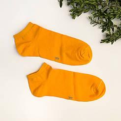 Короткие мужские носки V&T socks/ Украина, Хмельницкий оранжевый
