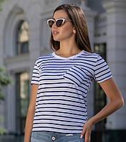 """Женская стильная футболка """"реснички"""" до 52 размера"""