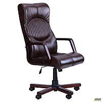 Кресло офисное AMF Геркулес Экстра тёмно-коричневое, фото 1