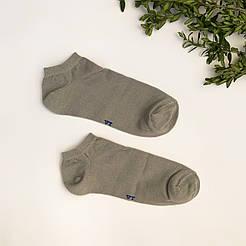 Короткие мужские носки V&T socks/ Украина, Хмельницкий серый