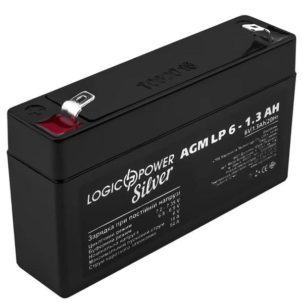 Аккумулятор AGM LogicPower LP 6-1,3 AH