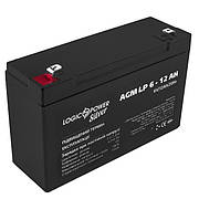 Акумулятор AGM LogicPower LP 6-12 AH