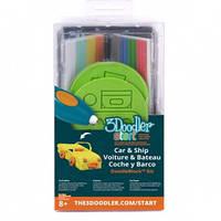 Набор аксессуаров для 3D-ручки ТРАНСПОРТ 48 стержней, 2 шаблона