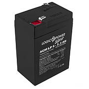 Акумулятор AGM LogicPower LP 6-5,2 AH