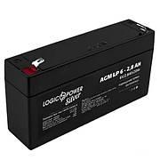 Акумулятор AGM LogicPower LP 6-2,8 AH
