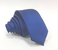 Мужской галстук индиго indigo 5 cm