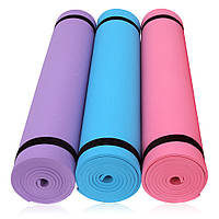 Коврик-мат для йоги фитнеса и пилатеса(EVA)