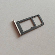 Сим-лоток для Samsung A8 Plus / A730 1 Sim Gold