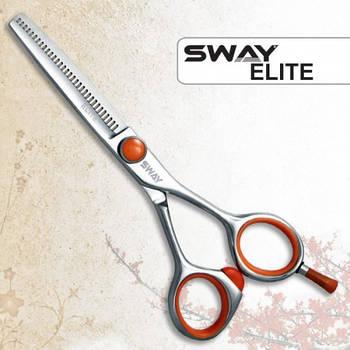 Ножницы для стрижки Sway 110 26355 Elite 5,5 филировочные