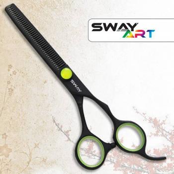 Ножницы для стрижки Sway 110 36060G Art Neon Green 6 филировочные