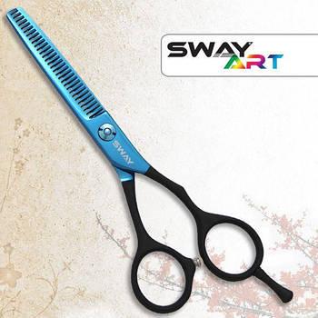 Ножницы для стрижки филировочные Sway 110 31660 Art Crow Wing 6