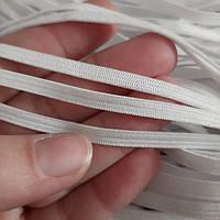 Лента-резинка для масок белая, 4 мм/48 м, фото 1