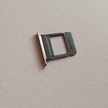 Сим-лоток для Samsung A8 Plus / A730 1 Sim Small Gold