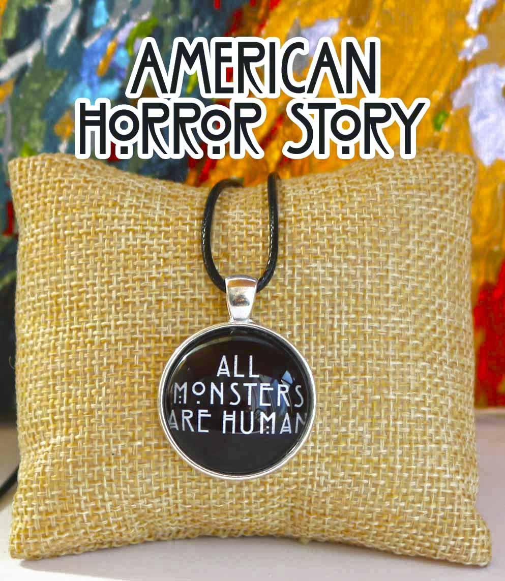 "Кулон Американская история ужасов American Horror Story ""All Monsters - Are Human"""