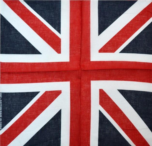 Бандана 55х55 Англійський прапор (K150)