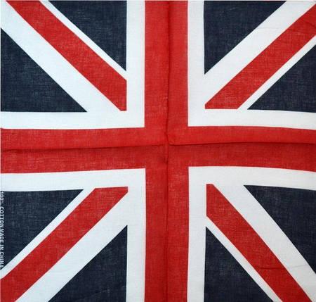 Бандана 55х55 Англійський прапор (K150), фото 2