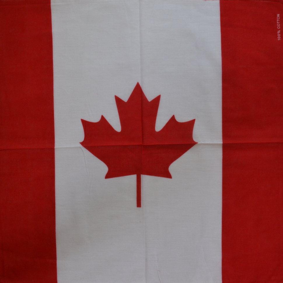 Бандана 55х55 Флаг Канады (K155)