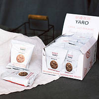 Печенье овсяное Миндаль showbox 14 упаковок по 2 печенья, 504 г, ТМ ЯРО