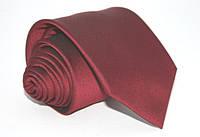 Мужской бордовый галстук bordo 8,5