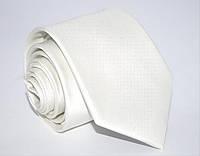 Кремовый мужской галстук Cream 8,5
