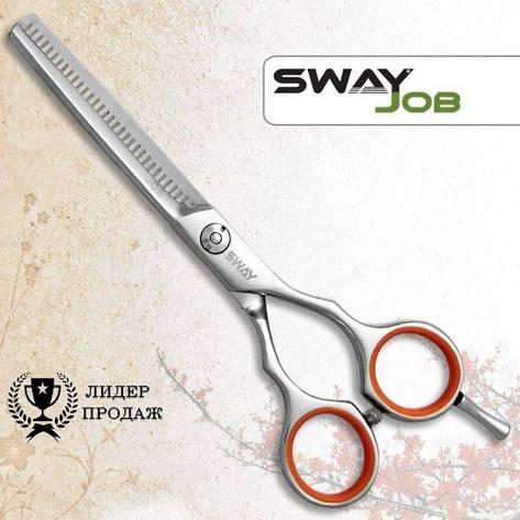 Ножницы для стрижки филировочные Sway 110 56055 Job 5,5, фото 2