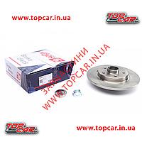 Тормозной диск задний Renault Kango II 1.5 dCi 08-  Solgy 208036