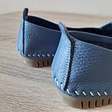 Макасіни кеди жіночі INSHOES сині, фото 2