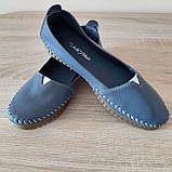 Макасіни кеди жіночі INSHOES сині, фото 4