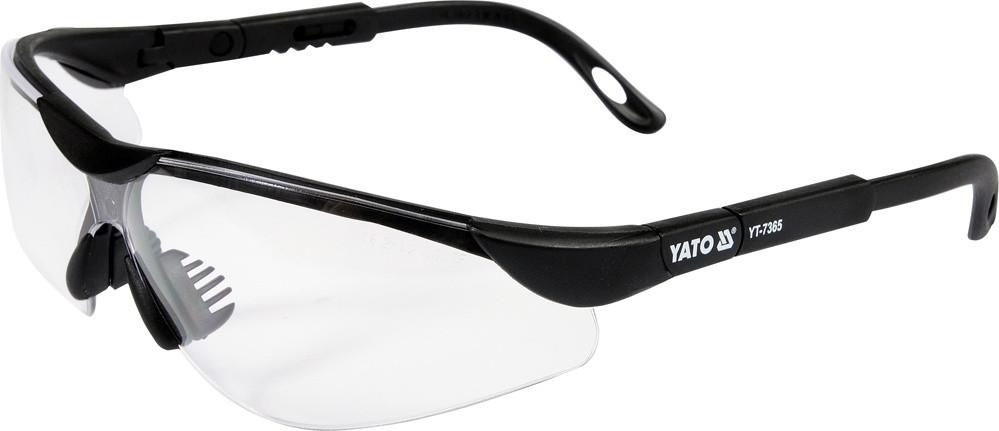 Окуляри захисні відкриті прозорі YATO