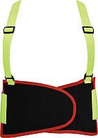 Пояс для поддержки спины эластичный YATO 125 х 20 см размер XL