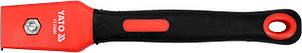 Цикля-скребок с полипропиленовым корпусом и резиновой ручкой YATO лезо- 30 мм 200 мм