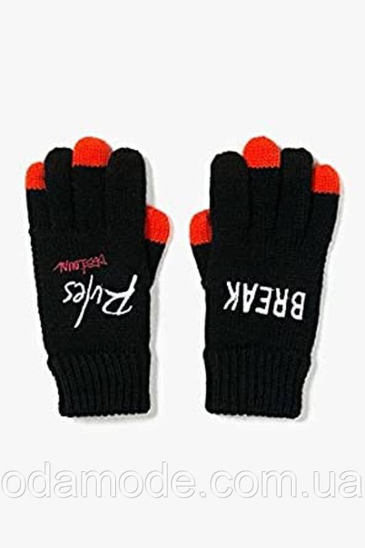 Перчатки женские вязанныеDesigual