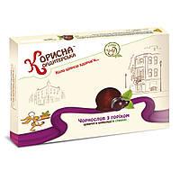 """Конфеты в шоколаде «Чернослив с орехом» со стевией, 1 кг от ТМ """"Корисна Кондитерська"""""""