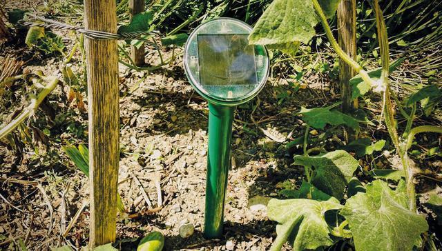 Отпугиватель кротов Garden Line на солнечной батарее
