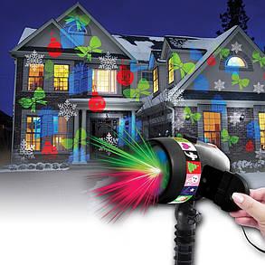 Новогодний и рождественский лазерный проектор света Good Idea (hub_DVnl71696), фото 2