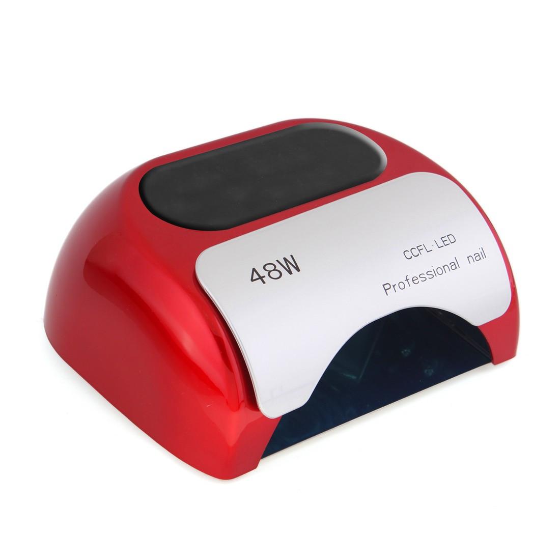 УФ CCFL/LED гибридная лампа Good Idea 48W для гель лаков и геля Красный (7143to)