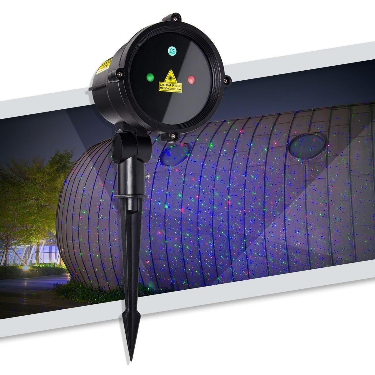 Уличный лазерный проектор с пультом Good Idea (hub_nOvg47695)