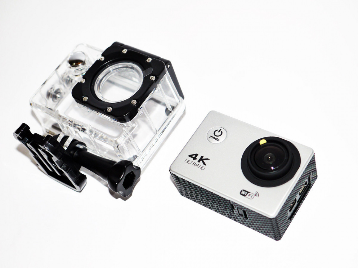 Экшн камера 4K F60B WiFi Белая (hub_XsQj87028)