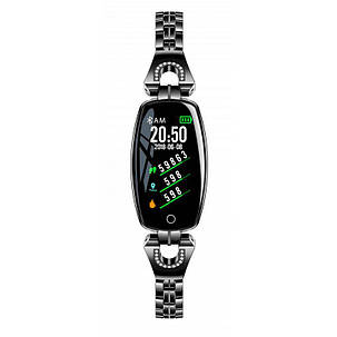 Розумний браслет Smart band H8 Luxury Waterproof IP67 Black, фото 2