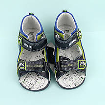 Детские кожаные босоножки для мальчика тм Bi&Ki размер 21,22, фото 3