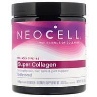 Препарат для восстановления суставов и связок Neocell Super Collagen Powder (198 г)