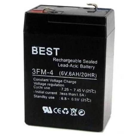 Аккумулятор BEST 3FM-4, 6v 4,5ah, фото 2