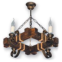 Люстра подвесная 4 свечи Е14 серии Venza 140524