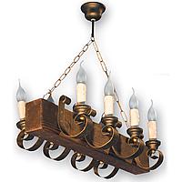 Люстра подвесная 8 свечей Е14 серии Venza 130528