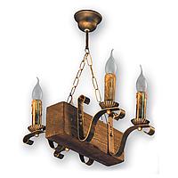 Люстра подвесная 4 свечи Е14 серии Lilia 130924