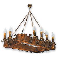 Люстра подвесная 12 свечей Е14 серии Lilia 2709212