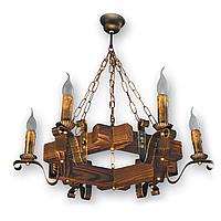 Люстра подвесная 6 свечей Е14 серии Lilia 400926