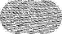 Сетка абразивная твердая на липучке до шлифмашины YATO G60 225 мм 3 шт