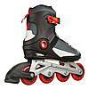 Чоловічі роликові ковзани Firefly ILS300M 40 Black/Grey/Red (ILS300M-40), фото 2