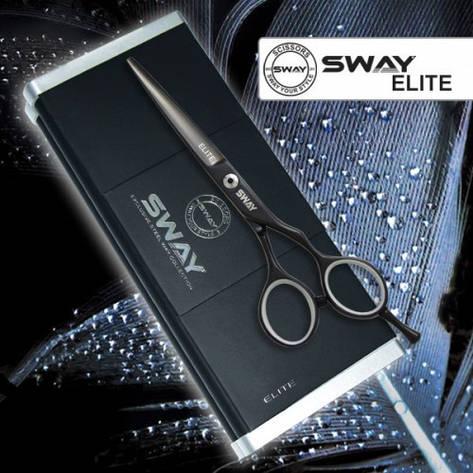 Ножницы для стрижки Sway 110 20455 Elite Night 5,5, фото 2